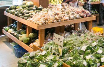 野菜新鮮道の駅